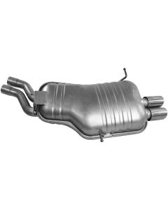Walker WAL-21045 Quiet-Flow® SS Stainless Steel OEM Standard Oval Muffler Thumb