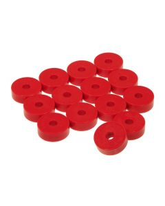 Prothane PTN-1-101 Red Body Mount Bushing Kit - (14 PCS) Small Image