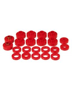 Prothane PTN-1-102 Red Body Mount Bushing Kit - (22 PCS) Small Image