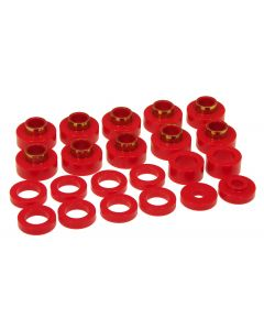 Prothane PTN-1-103 Red Body Mount Bushing Kit - (22 PCS) Small Image