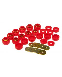 Prothane PTN-1-105 Red Body Mount Bushing Kit Small Image