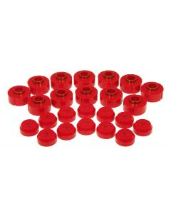 Prothane PTN-1-106 Red Body Mount Bushing Kit Small Image