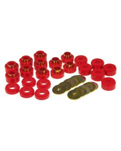 Prothane PTN-1-107 Red Body Mount Bushing Kit Small Image