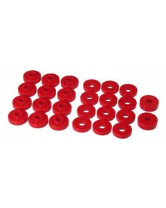 Prothane PTN-1-108 Red Body Mount Bushing Kit Small Image