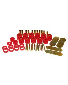 Prothane PTN-1-111 Red Lift Body Mount Bushing Kit Small Image