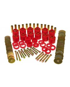 Prothane PTN-1-112 Red Lift Body Mount Bushing Kit Small Image