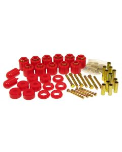 Prothane PTN-1-114 Red Lift Body Mount Bushing Kit Small Image
