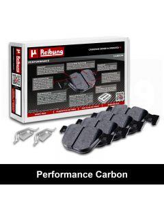 Reibung REI-BPDPFCA18320 Performance Carbon Brake Pad Set Small Image