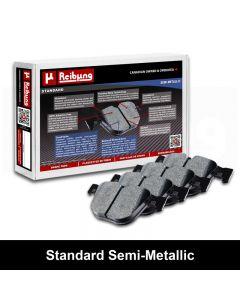 Reibung REI-BPDSDSM18320 Standard Semi-Metallic Brake Pad Set Small Image