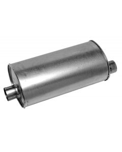 Walker WAL-21047 Quiet-Flow® SS Stainless Steel OEM Standard Oval Muffler Small Image