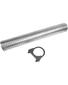 "Walker WAL-36324 Exhaust Flex Pipe Kit - (2.25"" ID, 2.25"" OD, 18"" Length) Small Image"