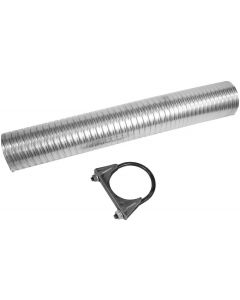 "Walker WAL-36326 Exhaust Flex Pipe Kit - (2.625"" ID, 2.625"" OD, 17.5"" Length) Small Image"