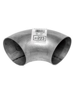 "Walker WAL-41223 Heavy Duty 90° Exhaust Elbow - (4"" ID, 4"" OD, 8"" Length) Small Image"
