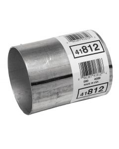 "Walker WAL-41812 Aluminized Steel Exhaust Pipe Connector - (3"" ID, 3"" OD, 4"" Length) Small Image"