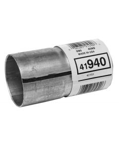 "Walker WAL-41940 Aluminized Steel Exhaust Pipe Connector - (2"" ID, 2"" OD, 4"" Length) Small Image"