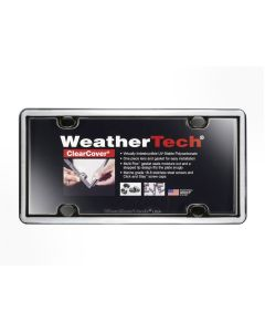 WeatherTech WTD-60023 ClearCover® License Plate Cover Small Image