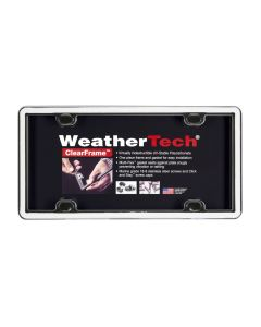 WeatherTech WTD-63021 ClearFrame™ License Plate Cover Small Image
