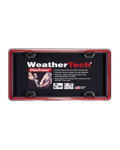 WeatherTech WTD-63022 ClearFrame™ License Plate Cover Small Image