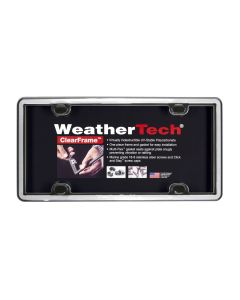 WeatherTech WTD-63023 ClearFrame™ License Plate Cover Small Image