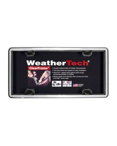 WeatherTech WTD-63027 ClearFrame™ License Plate Cover Small Image